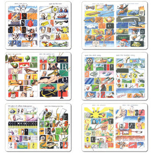 Spot the Set - Tablemat set of 6<br>(Pack of 2)