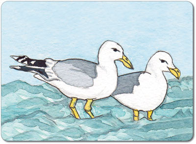 Pair of Seagulls Tablemat<br>(Pack of 10)