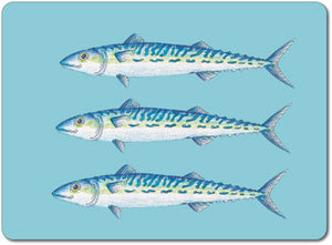 Mackerel Tablemat<br>(Pack of 10)