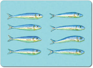 Pilchards Tablemat<br>(Pack of 10)