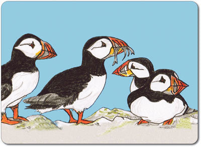 Puffins Tablemat<br>(Pack of 10)