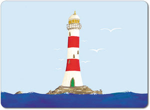 Red and White Lighthouse Tablemat<br>(Pack of 10)
