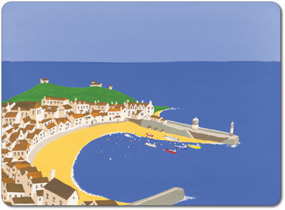 St Ives Harbour Tablemat<br>(Pack of 10)