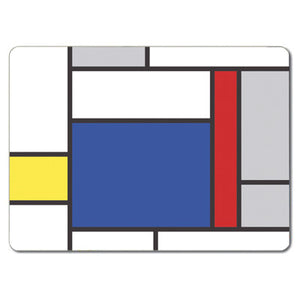 Large Blue Block Tablemat<br>(Pack of 10)
