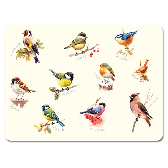 Mixed Birds 1 - Tablemat<br>(Pack of 10)