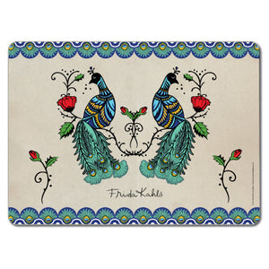 Frida Kahlo Peacock Tablemat<br>(Pack of 10)