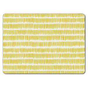 Yellow Grain Rice Tablemat<br>(Pack of 10)