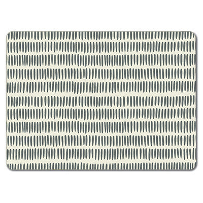 Grey Grain Rice  Tablemat<br>(Pack of 10)