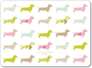 Dachshund Repeat Tablemats