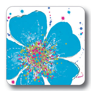 Light Blue Rose Tablemat<br>(Pack of 10)