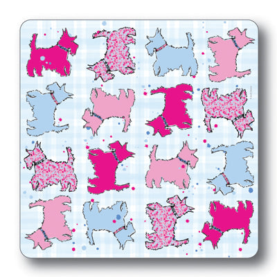 Scottie Dog Repeat Tablemat<br>(Pack of 10)