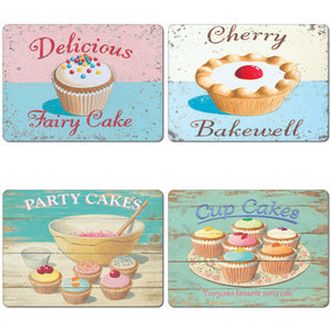 Fairy Cakes  Tablemat set of 4<br>(Pack of 2)