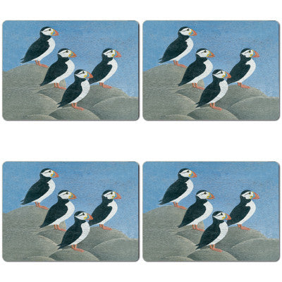 Puffins Tablemat set of 4<br>(Pack of 2)