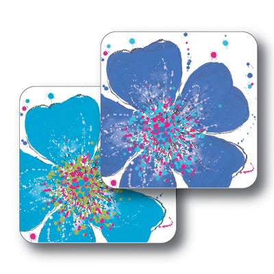 Light and Dark Blue Roses Tablemat Set of 2<br>(Pack of 2)