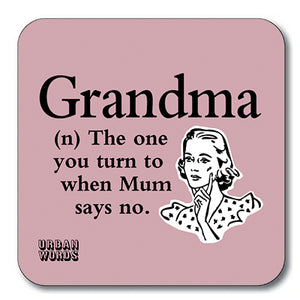 Grandma Coaster<br>(Pack of 10)