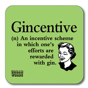 Gincentive Coaster<br>(Pack of 10)