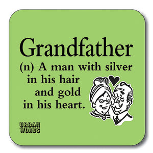 Grandfather Coaster<br>(Pack of 10)