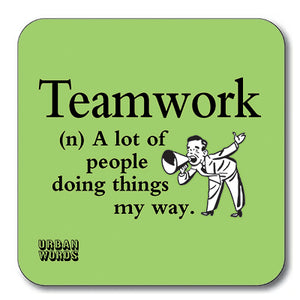 Teamwork Coaster<br>(Pack of 10)