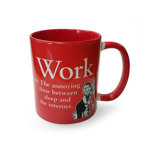 Work Mug<br>(Pack of 6)