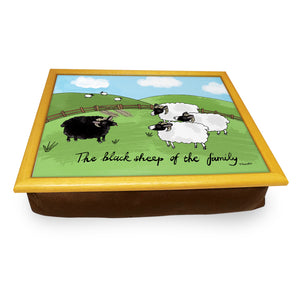 Black Sheep Cushion Tray<br>(Pack of 2)