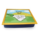 Counting Sheep  Cushion Tray<br>(Pack of 2)