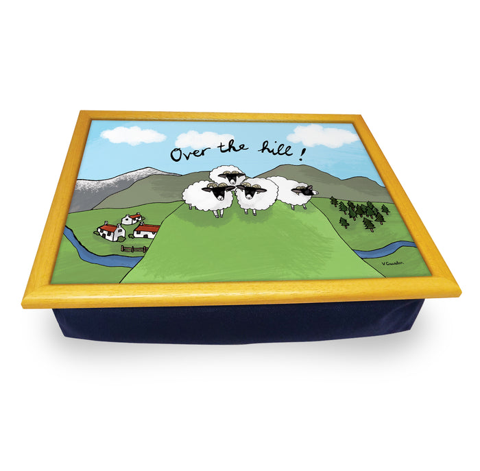 Over The Hill  Cushion Tray<br>(Pack of 2)