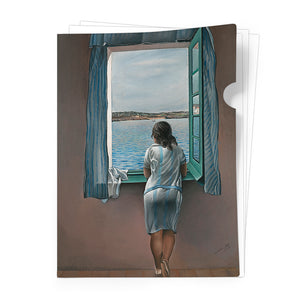 Girl at the Window, 1925 Document Folder<br>(Pack of 10)