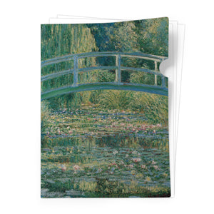 Waterlily Pond Document Folder<br>(Pack of 10)