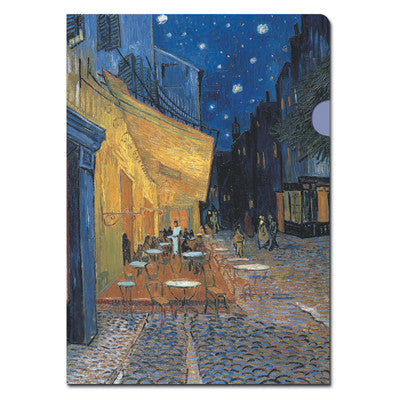 Cafe Terrace at night Document Folder<br>(Pack of 10)