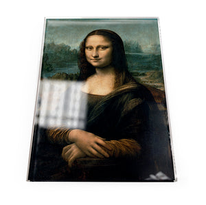 Mona Lisa Acrylic Postcard<br>(Pack of 5)