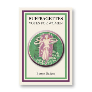 Sylvia Pankhurst Button Badge<br>(Pack of 20)