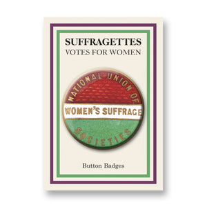 National Union of Women's Suffrage Button Badge<br>(Pack of 10)