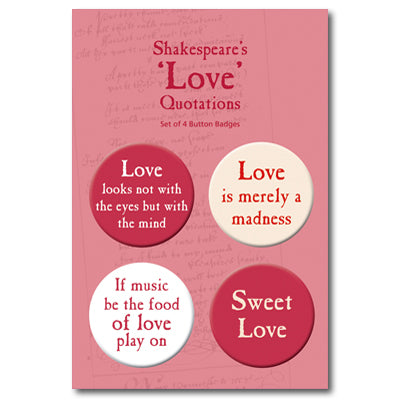 Love Quotes Badge Set<br>(Pack of 10)