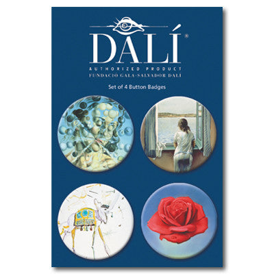 Dali Badge Set<br>(Pack of 10)