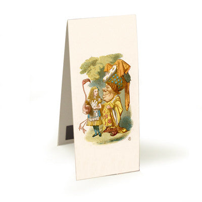 Alice and the Queen  Magnetic Bookmark<br>(Pack of 10)