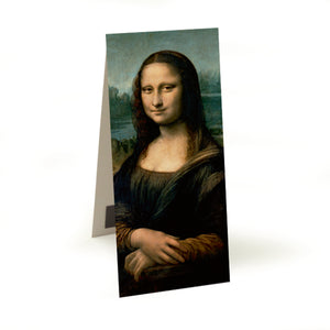 Mona Lisa Magnetic Bookmark<br>(Pack of 10)