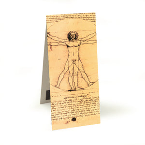 Vitruvian Man Magnetic Bookmark<br>(Pack of 20)