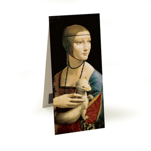 Lady with an Ermine Magnetic Bookmark<br>(Pack of 10)