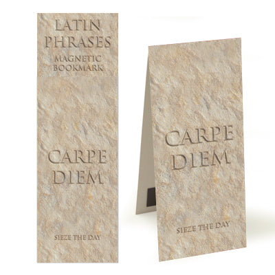 Carpe Diem (Sieze the Day)  Magnetic Bookmark<br>(Pack of 10)