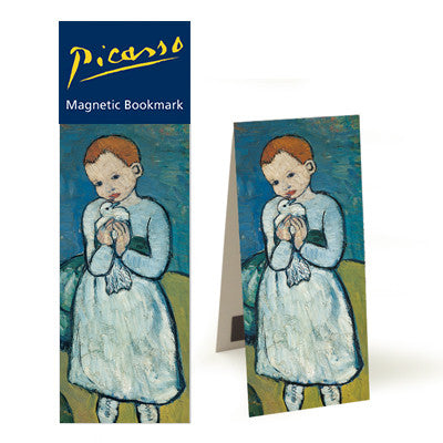 Child with a Dove  Magnetic Bookmark<br>(Pack of 10)