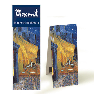 Cafe Terrace at Night  Magnetic Bookmark<br>(Pack of 10)