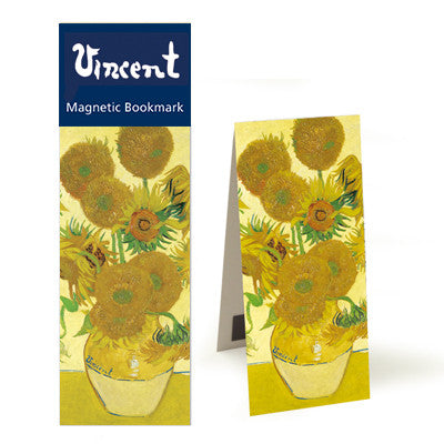Sunflowers  Magnetic Bookmark<br>(Pack of 10)