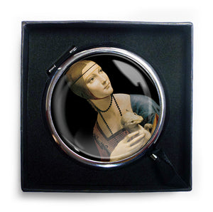 Lady with an Ermine Compact Mirror<br>(Pack of 5)