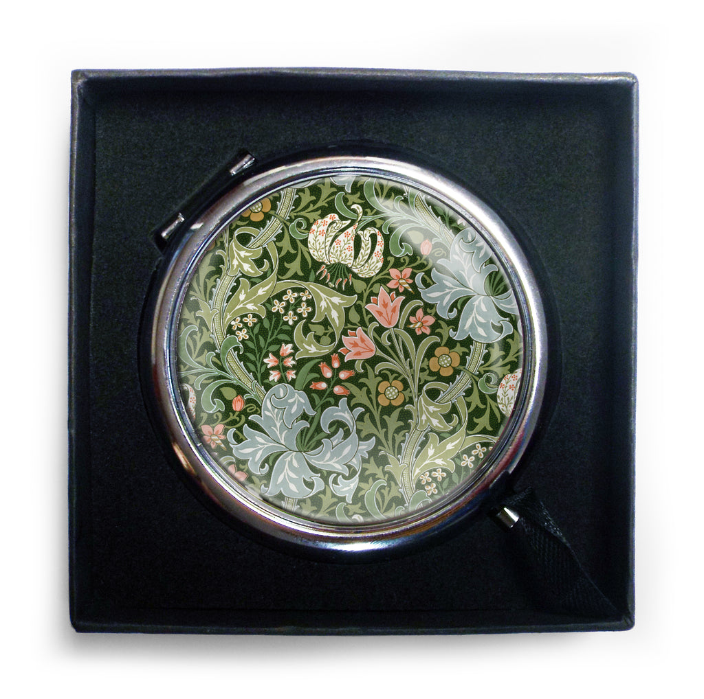 Golden Lily Compact Mirror<br>(Pack of 10)
