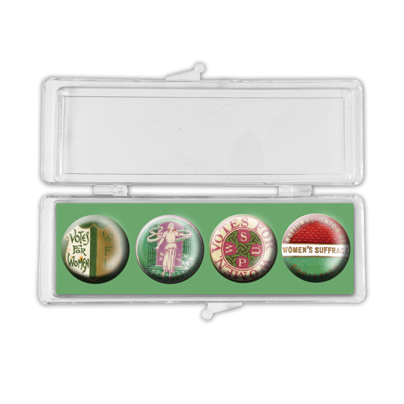 Votes for Women Crystal Magnet Set<br>(Pack of 10)
