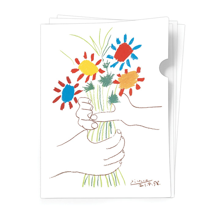 La bouquet de l'amitié - Document Folder<br>(Pack of 10)