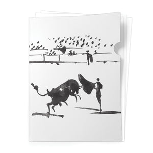 Bullfighting Scene - Document Folder<br>(Pack of 10)