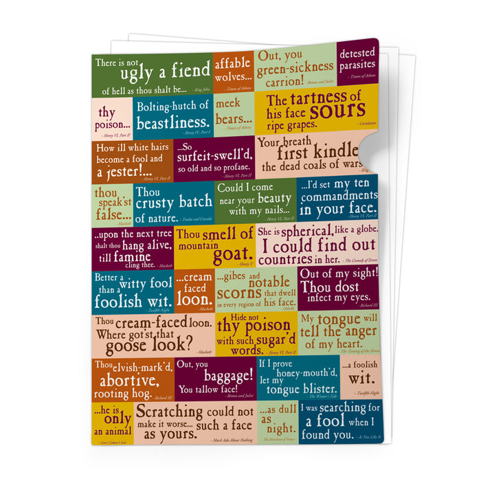 Insults Document Folder<br>(Pack of 10)