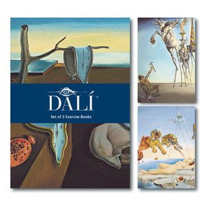Dali Exercise Book Set of 3<br>(Pack of 5)