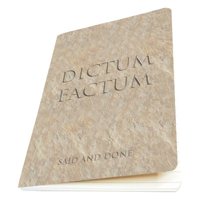 Dictum Factum (Said and Done) Exercise Book<br>(Pack of 10)